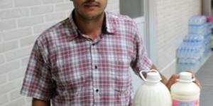 'Alo Süt' Hattını Kurdu, İşini Büyüttü Siparişlere Yetişemiyor