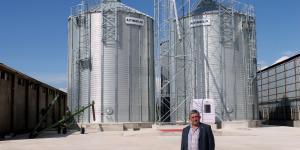 Yenişehir'e 3 bin 200 tonluk buğday silo tesisi