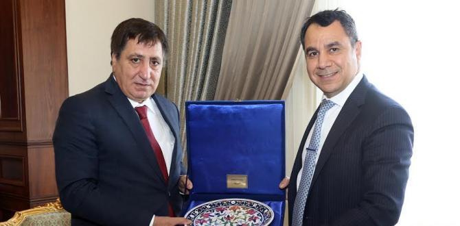BAŞKONSOLOS ALMOHAMMAD'DEN VALİ KÜÇÜK'E ZİYARET