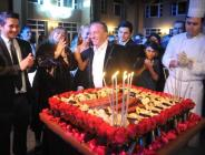 Ali Ağaoğlu'na sürpriz doğum günü kutlaması