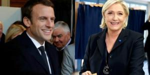 Fransa'da Macron ve Le Pen 2.tura kaldı