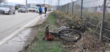 Otomobil Bisiklet Sürücüsünü Ağır Yaraladı