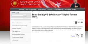Cumhurbaşkanı Erdoğan'dan sultanlara tebrik