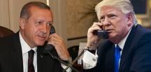 Trump'tan Cumhurbaşkanı Erdoğan'a tebrik telefonu