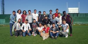 UÜ Futbolda namağlup şampiyon