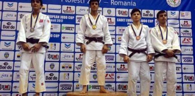 Gençlerden Avrupaya Judo Gösterisi