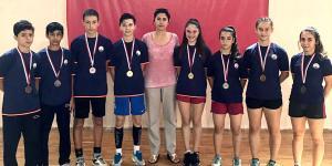 Badminton'da Osmangazi İmzası