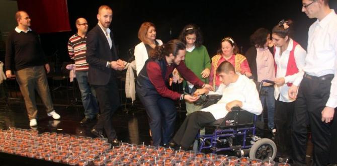 Engelliler Gününde 'Tatlı' Uzlaşma