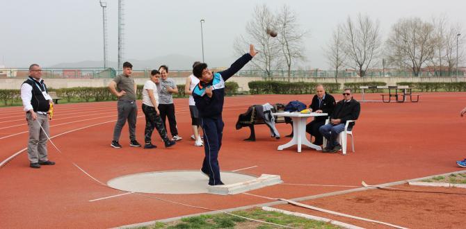 Osmangazili Atletlerin Yıldızı Parladı