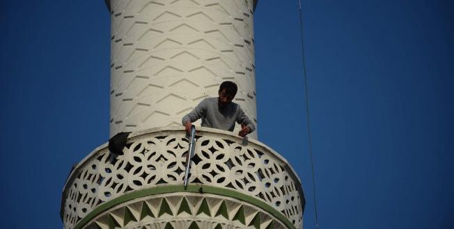 Bursa'da Pompalı Tüfekle Minareye Çıkan Kişi; Ateş Açtı