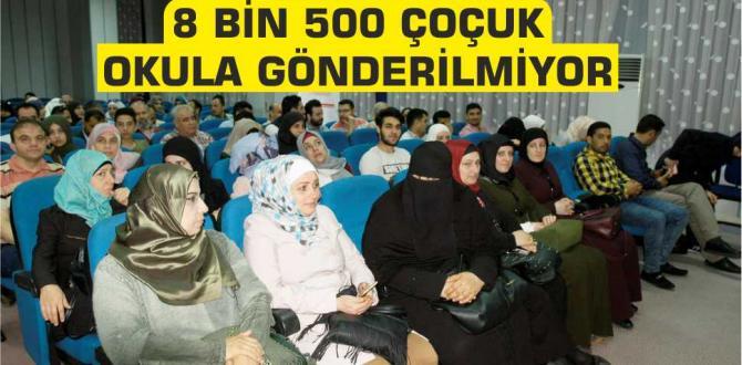 Bursa'da 8 bin 500 Çocuk Okula Gönderilmiyor