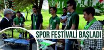 Spor Festivali Başladı