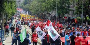 Bursa'da Coşkulu 1 Mayıs
