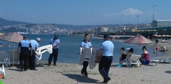 Bursa'da Sahillere Müdahale!