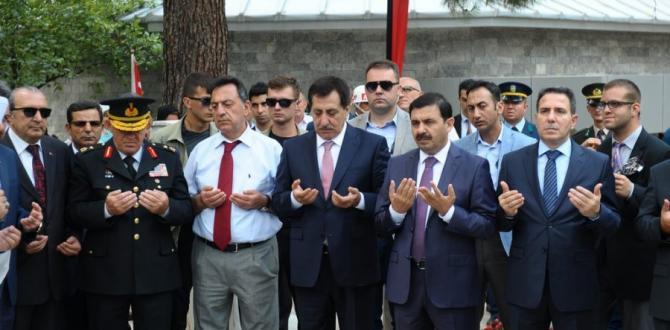 BURSA ŞEHİTLERİ UNUTMADI